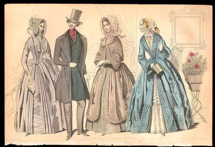 Columbian Magazine February 1844