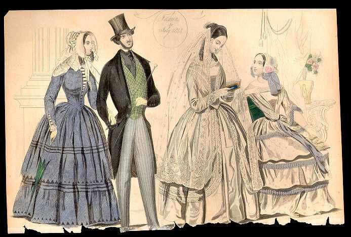 Columbian Magazine July 1844