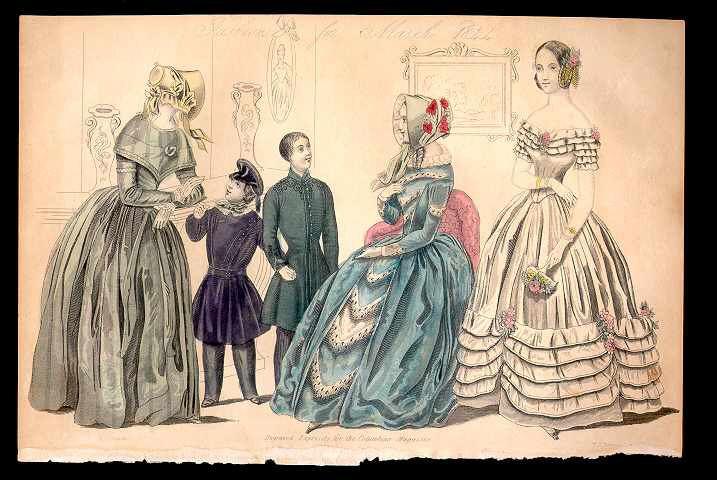 Columbian Magazine March 1844