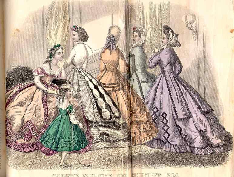 Godey's Magazine December 1864