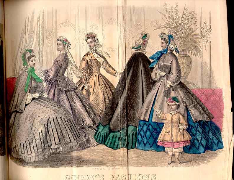 Godey's Magazine February 1864