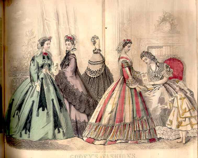 Godey's Magazine July 1864