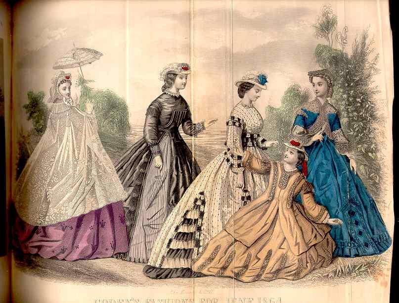 Godey's Magazine June 1864