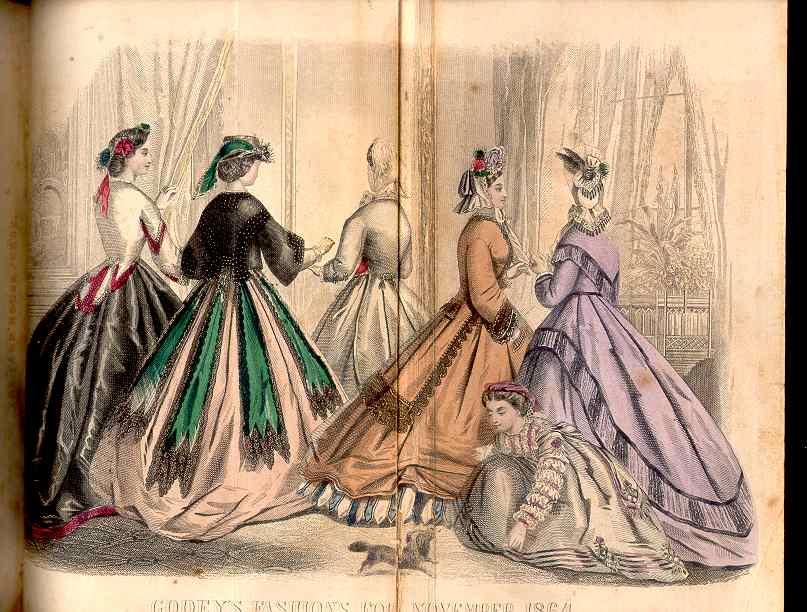 Godey's Magazine November 1864