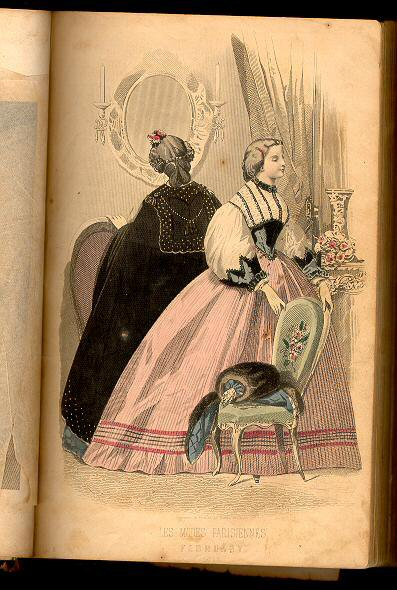 Peterson's Magazine February 1863