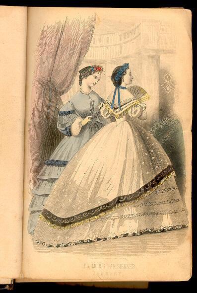 Peterson's Magazine January 1863