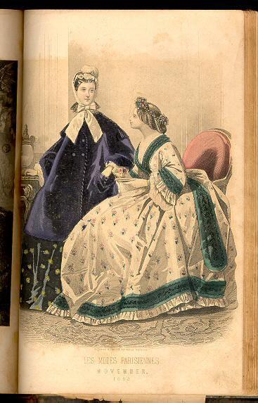 Peterson's Magazine November 1863
