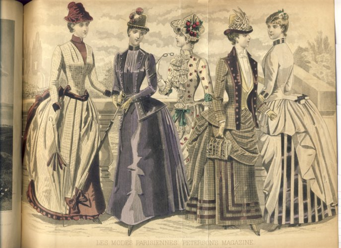 Peterson's Magazine August 1886