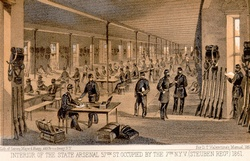 central park arsenal interior 1862