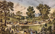 Central Park - The Grand Drive 1869