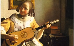 Girl with Guitar by Johannes Vermeer
